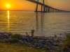 Original Lisbon Vasco da Gama Bridge Photography 2 By Messagez.com