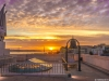 Original Top of The Lisbon Viewpoint at Sunset Photography 2 By Messagez.com