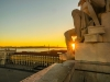 Portugal Lisbon Augusta Street Triumphal Arch Viewpoint Sunset Photography 2 By Messagez.com