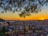 The Special Lisbon Viewpoint at Sunset Photography By Messagez.com