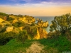 Algarve Golden Cliffs Pathway Photography By Messagez.com