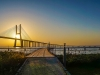 Original Lisbon Portugal Bridge Panorama Art Photography 35 By Messagez.com