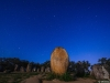 Portugal Cromlech of the Almendres Megalithic Complex Night Photography By Messagez.com